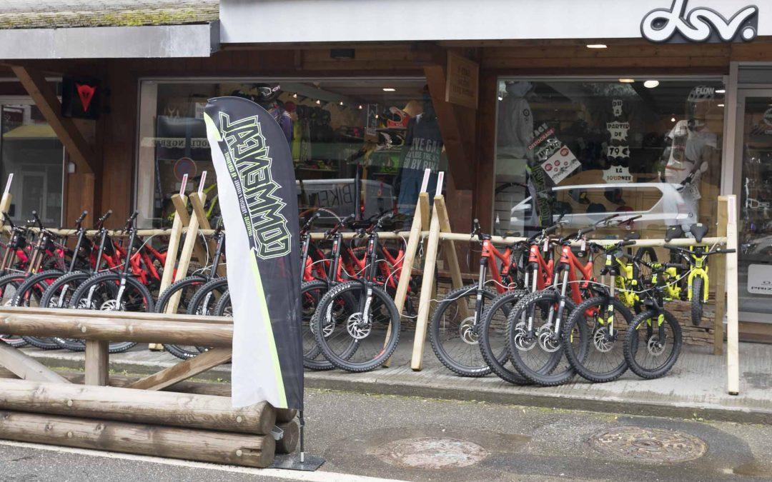 Second hand mountain bikes in Morzine